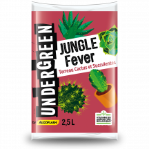 Terreau cactus et succulentes terreau JUNGLE Fever Undergreen