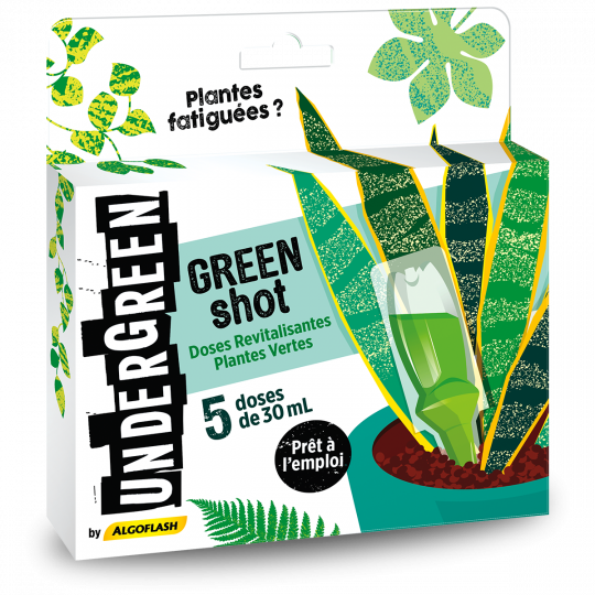 Revitalisant Plantes Vertes - Doses Green shot