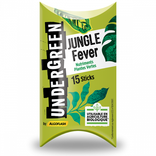 Bâtonnets nutriments Plantes Vertes JUNGLE Fever Undergreen