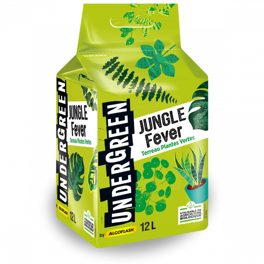 Terreau JUNGLE Fever Undergreen - Plantes vertes